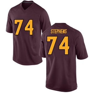 Youth Corey Stephens Nike Arizona State Sun Devils Youth Replica Maroon Football College Jersey
