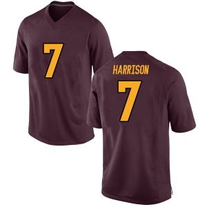 Youth Dominique Harrison Nike Arizona State Sun Devils Youth Replica Maroon Football College Jersey