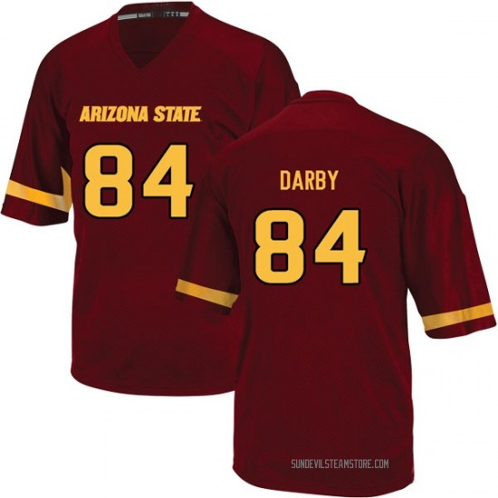 Youth Frank Darby Adidas Arizona State Sun Devils Youth Game Maroon Football College Jersey