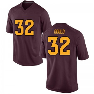 Youth Tavian Gould Nike Arizona State Sun Devils Youth Game Maroon Football College Jersey