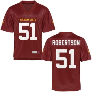 Men's Zach Robertson Arizona State Sun Devils Men's Limited Football Jersey - Maroon